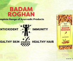 badam rogan oil for dark circle eyes