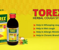 Torex herbal cough syrup