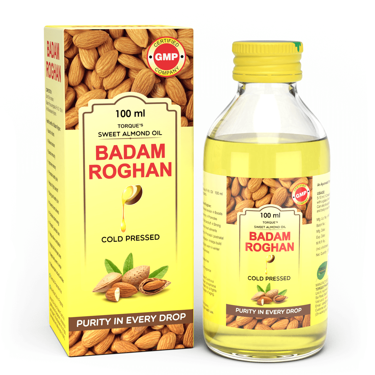 Badam Roghan - Best Ayurvedic Almond Oil in India for Adults