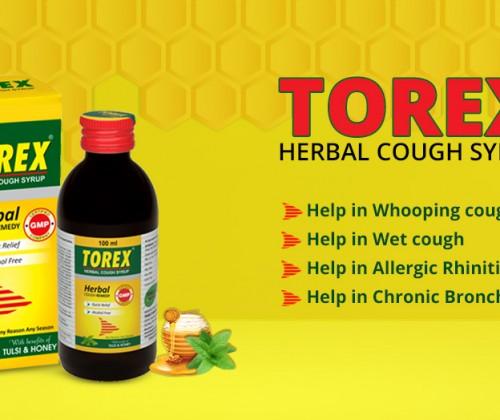 Torex herbal cough syrup